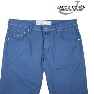 【36】 JACOB COHEN ヤコブコーエン ハーフパンツ PW6613COMF メンズ 春夏 ブルー 青 並行輸入品 ズボン 大きいサイズ|utsubostock
