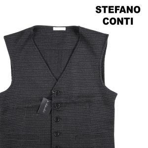 【46】 stefano conti ステファノ・コンティ ジレ メンズ 秋冬 ネイビー 紺 並行輸入品 ベスト|utsubostock