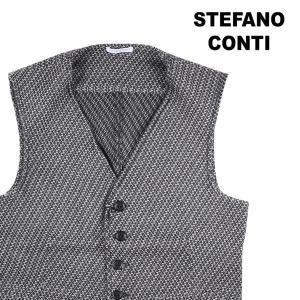 【46】 stefano conti ステファノ・コンティ ジレ メンズ 秋冬 グレー 灰色 並行輸入品 ベスト|utsubostock