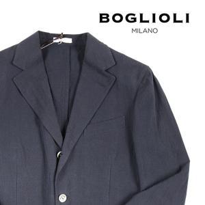 【48】 BOGLIOLI ボリオリ ジャケット X2902E メンズ 春夏 リネン混 ネイビー 紺 並行輸入品 アウター トップス|utsubostock