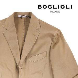 【48】 BOGLIOLI ボリオリ ジャケット R3302G メンズ 春夏 リネン混 ブラウン 茶 並行輸入品 アウター トップス|utsubostock