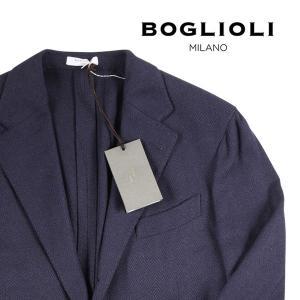 【52】 BOGLIOLI ボリオリ ジャケット X2902E メンズ シルク100% ネイビー 紺 並行輸入品 アウター トップス 大きいサイズ|utsubostock