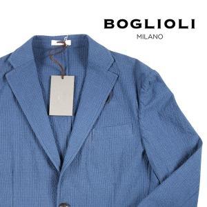 【48】 BOGLIOLI ボリオリ ジャケット OG0008 メンズ 春夏 ブルー 青 並行輸入品 アウター トップス|utsubostock