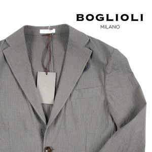 【44】 BOGLIOLI ボリオリ ジャケット OG0008 メンズ 春夏 グレー 灰色 並行輸入品 アウター トップス|utsubostock