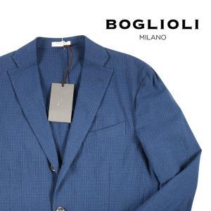 【48】 BOGLIOLI ボリオリ ジャケット T2902E メンズ 春夏 ブルー 青 並行輸入品 アウター トップス|utsubostock