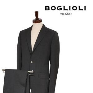 【46】 BOGLIOLI ボリオリ スーツ 732V2B メンズ 春夏 グレー 灰色 並行輸入品|utsubostock