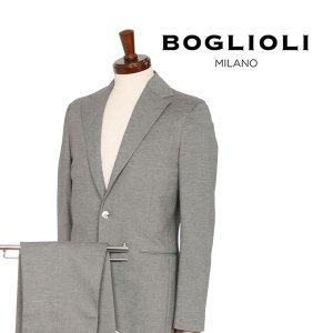 BOGLIOLI スーツ メンズ 44/S グレー 灰色 X21W2E ボリオリ 並行輸入品|utsubostock
