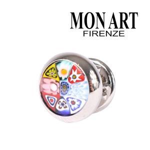 MONART モナート ラペルピン メンズ 花柄 マルチカラー 並行輸入品|utsubostock