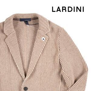 LARDINI ストライプ ジャケット IE49022 beige S 13902【W13903】 ラルディーニ|utsubostock