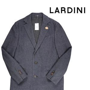 LARDINI コート メンズ 秋冬 52/2XL ネイビー 紺 ラルディーニ 大きいサイズ 並行輸入品|utsubostock