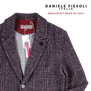 DANIELE FIESOLI ジャケット DF9335 navy×red M 13922【W13924】 ダニエレフィエゾーリ|utsubostock