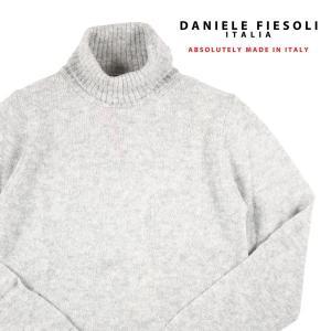 DANIELE FIESOLI タートルネックセーター メンズ 秋冬 S/44 グレー 灰色 ダニエレフィエゾーリ 並行輸入品|utsubostock