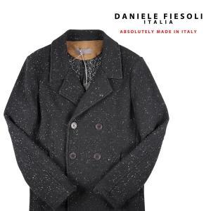 DANIELE FIESOLI ニットコート メンズ 秋冬 S/44 ブラック 黒 ダニエレフィエゾーリ 並行輸入品|utsubostock