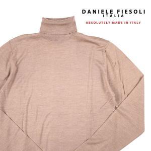 DANIELE FIESOLI シルク混 タートルネックセーター DF0040 brown M 13943BR【W13945】|utsubostock