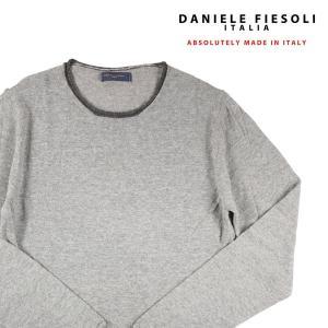 DANIELE FIESOLI 丸首セーター DF0053 gray M 13961【W13964】|utsubostock