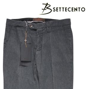 B SETTECENTO パンツ MH700-2144 dark gray 32 13979D【W13984】 ビーセッテチェント|utsubostock