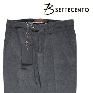 B SETTECENTO パンツ MH700-2144 dark gray 34 13979D【W13988】 ビーセッテチェント|utsubostock