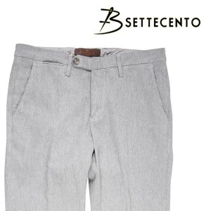 B SETTECENTO パンツ メンズ 秋冬 30/M グレー 灰色 ビーセッテチェント 並行輸入品|utsubostock