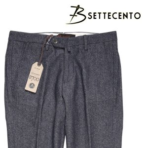 B SETTECENTO パンツ メンズ 秋冬 29/S ネイビー 紺 ビーセッテチェント 並行輸入品|utsubostock
