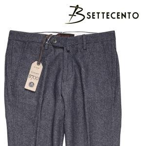 B SETTECENTO パンツ メンズ 秋冬 32/L ネイビー 紺 ビーセッテチェント 並行輸入品|utsubostock
