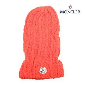 MONCLER ニット帽 BERRETTO TRICOT orange ONE SIZE 14249【W14249】|utsubostock