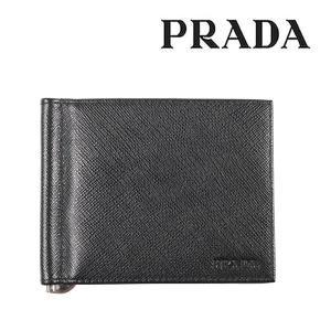 PRADA プラダ 財布 2MN077 メンズ ブラック 黒 並行輸入品|utsubostock