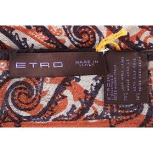 ETRO ストール メンズ マルチカラー シルク混 エトロ 並行輸入品|utsubostock|05