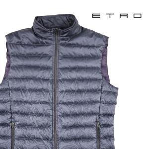 ETRO ダウンベスト メンズ 秋冬 グレー 灰色 エトロ 並行輸入品|utsubostock