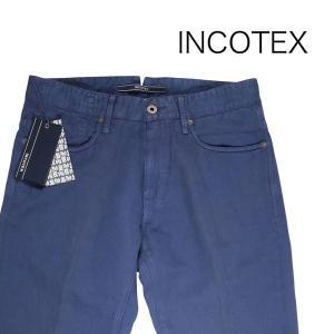 INCOTEX コットンパンツ SKYC 90640 navy 30 14439【S14439】 インコテックス|utsubostock