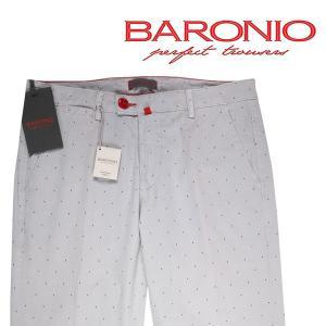 BARONIO コットンパンツ メンズ 春夏 36/3XL グレー 灰色 バロニオ 大きいサイズ 並行輸入品|utsubostock