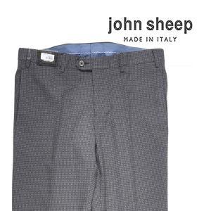 john sheep スラックス メンズ 52/2XL グレー 灰色 ジョン・シープ 大きいサイズ 並行輸入品|utsubostock