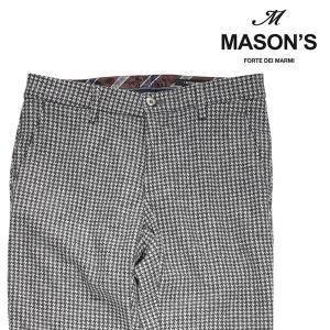 【54】 MASON'S メイソンズ ウールパンツ メンズ 秋冬 グレー 灰色 並行輸入品 ズボン 大きいサイズ|utsubostock