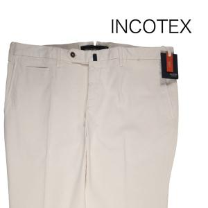 INCOTEX カラーパンツ メンズ 春夏 54/3XL ホワイト 白 KAGW9140290 インコテックス 大きいサイズ 並行輸入品|utsubostock