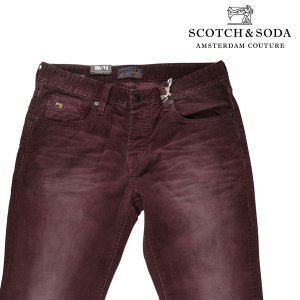 SCOTCH&SODA コーデュロイパンツ メンズ 秋冬 29/S パープル 紫 スコッチアンドソーダ 並行輸入品|utsubostock