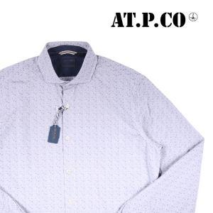 AT.P.CO 長袖シャツ T14 light gray 40 14533【A14533】 アティピコ|utsubostock