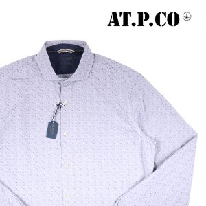 AT.P.CO 長袖シャツ T14 light gray 41 14533【A14534】 utsubostock