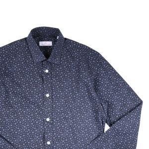 Brio 長袖シャツ メンズ 37/XS ネイビー 紺 ブリオ 並行輸入品|utsubostock