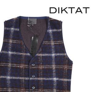 【L】 DIKTAT ディクタット ジレ メンズ 秋冬 並行輸入品 ベスト|utsubostock