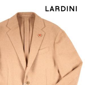 LARDINI ジャケット メンズ 秋冬 52/2XL ベージュ キャメル100% ラルディーニ 大きいサイズ 並行輸入品|utsubostock