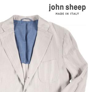 【52】 john sheep ジョン・シープ ジャケット メンズ 春夏 グレー 灰色 並行輸入品 アウター トップス 大きいサイズ|utsubostock