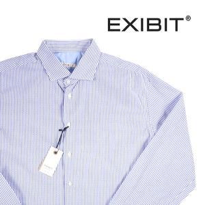 EXIBIT 長袖シャツ メンズ 44/4XL ホワイト 白 エグジビット 大きいサイズ 並行輸入品|utsubostock