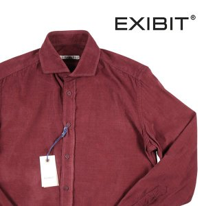 EXIBIT 長袖シャツ メンズ 秋冬 M/46 レッド 赤 エグジビット 並行輸入品|utsubostock