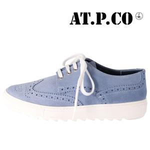 AT.P.CO シューズ メンズ 40/24.5cm ブルー 青 アティピコ 並行輸入品|utsubostock