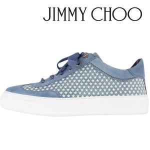 JIMMY CHOO スニーカー UMR171 sky blue 41.5 15262【A15264】|utsubostock