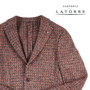 【48】 Sartoria Latorre サルトリア・ラトーレ ジャケット メンズ 秋冬 ブラウン 茶 並行輸入品 アウター トップス|utsubostock