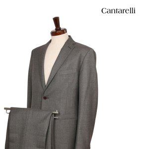 Cantarelli スーツ 32258209 brown x gray 50 15307【W15308】 カンタレッリ utsubostock