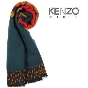 KENZO マフラー メンズ 秋冬 マルチカラー ケンゾー 並行輸入品|utsubostock