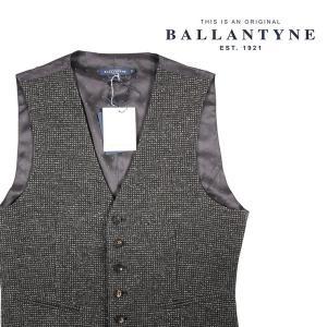 BALLANTYNE ジレ HMS002JWM02 gray 48 15320【W15320】 utsubostock