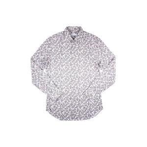 【42】 ETRO エトロ 長袖シャツ メンズ ペイズリー グレー 灰色 並行輸入品 カジュアルシャツ 大きいサイズ|utsubostock|02
