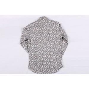 【42】 ETRO エトロ 長袖シャツ メンズ ペイズリー グレー 灰色 並行輸入品 カジュアルシャツ 大きいサイズ|utsubostock|04